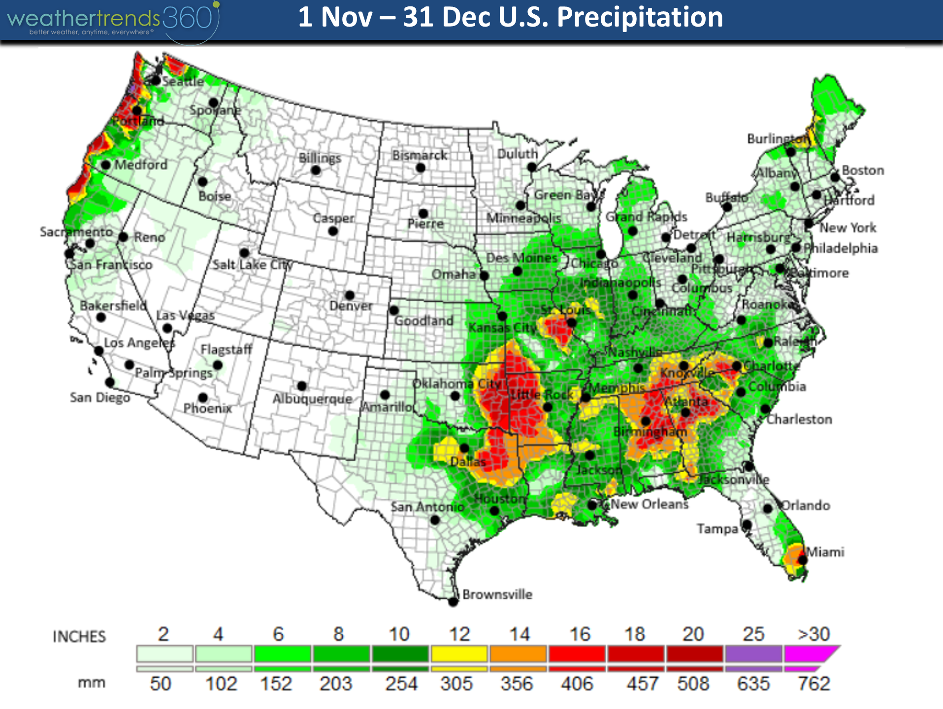 National Forecast And Current Conditions The Weather Channel - Southeast us rail map